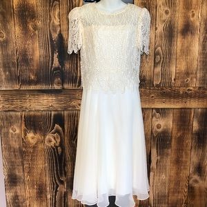 Cachet - Ivory Mother Of The Bride Dress - 7/8